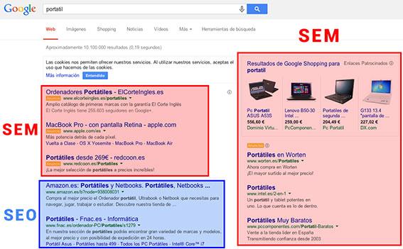 SEO-Y-SEM Castellón-google