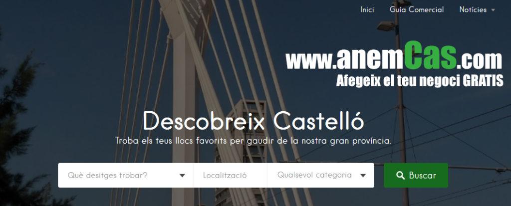 anemCas: la guia comercial de la provincia de Castellon